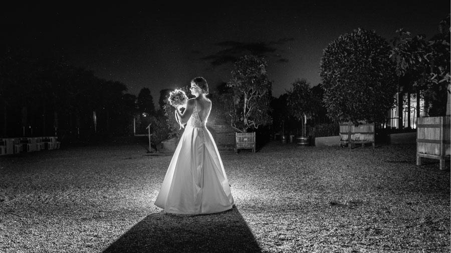 Braut bei Nacht