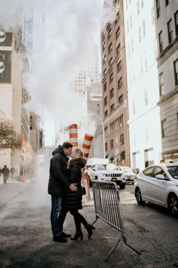 Hochzeitspaar in New York / Manhattan