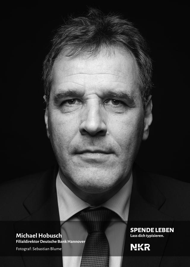 Michael Hobusch, Filialdirektor Deutsche Bank Hannover