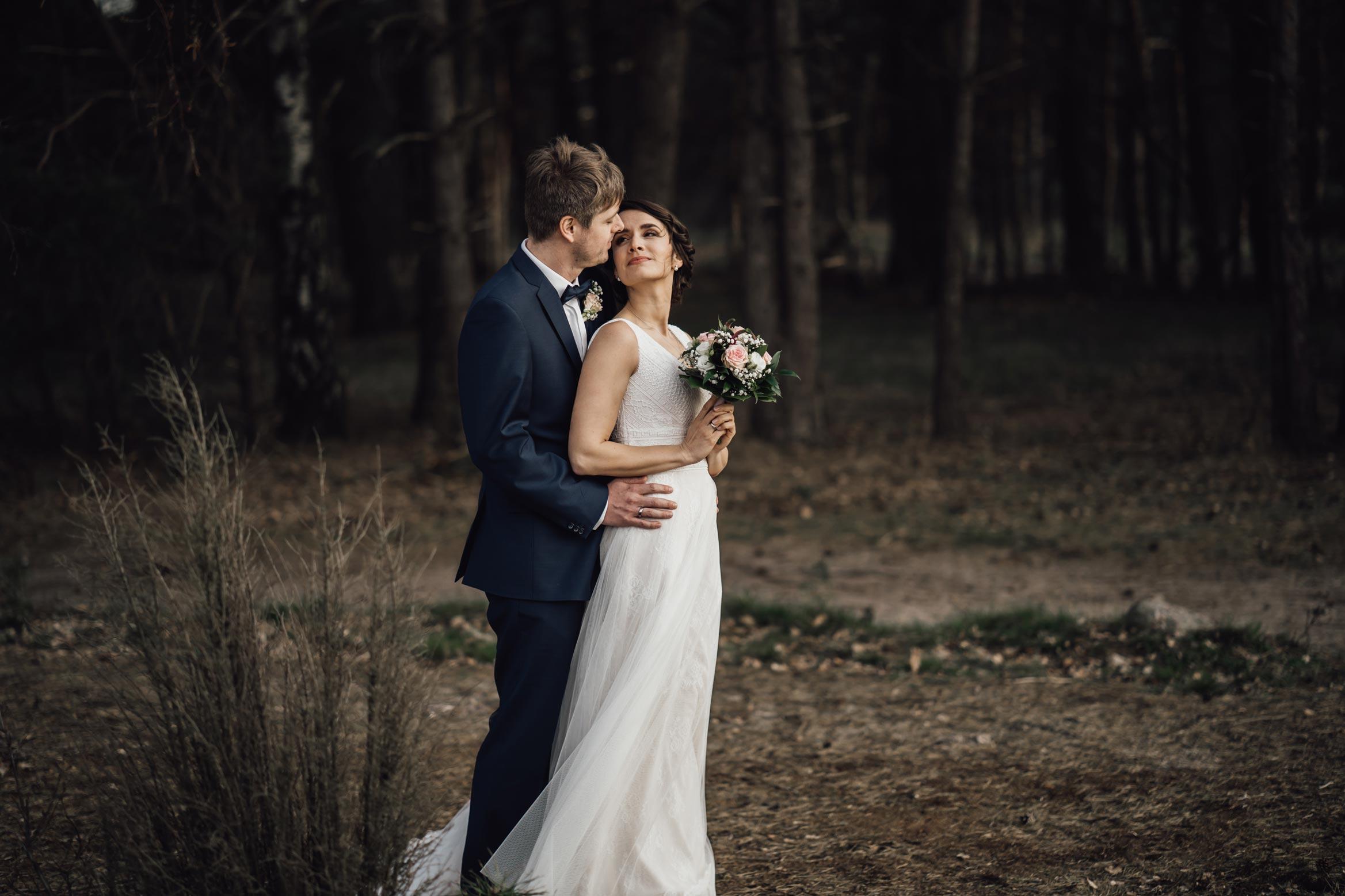 Paar in der Heide