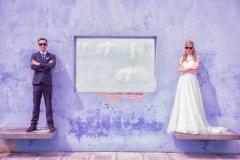 Hochzeitsfotografie Blume,  Paarshooting am EXPO 2000 Gelände in Hannover