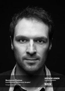 Benjamin Chatton, Geschäftsführer TSV Hannover - Burgdorf